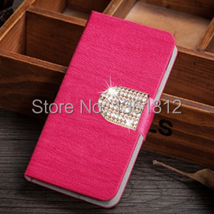 Luxury Wood Line Flip Leather Case For HTC Wildfire S G13,with Stand Function and Card Holder Free Shipping(China (Mainland))