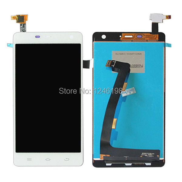 100% Original White Full LCD Display + Touch Screen Digitizer Assembly THL 4400 1280*720 Smartphone Repair Part - E-Source store