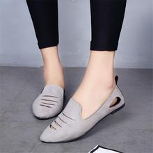 Женщины Повседневная Одежда Квартиры Мода Стиль вырезы Три Цвета Обувь Острым Носом Летом Скольжения на Shoses твердые Удобная Одежда(China (Mainland))
