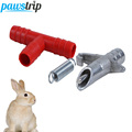 10 set lot New Automatic Rabbit Water Feeder Small Animal Guinea Pig Hamster Cage Nipple Waterer