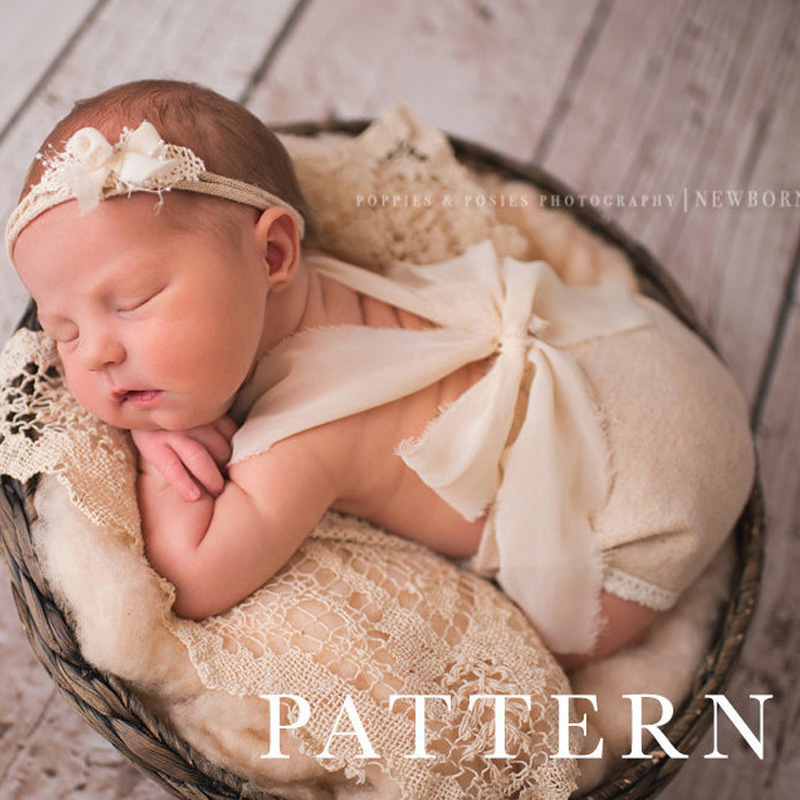 Newborn Photography Props Newest Baby Product Studio Photography Accessories Lace Romper Back Tie Girls Outfit Baby Gift(China (Mainland))