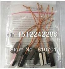 10 pieces 4.5x6.5x15mm electric car motor vehicle generator brush for vw bora polo Jetta Sagitar Magotan etc. valeo alternator(China (Mainland))