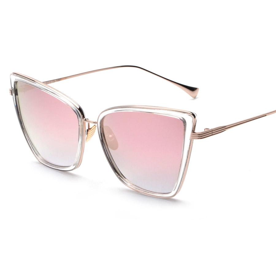 Contain Rose Gold!2016 New Retro Brand Unique Cat Eye Sunglasses Cosy Shades Men Women Designer Eyewear Sun Glasses Oculos H935(China (Mainland))