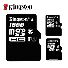 Original Kingston 16GB 32GB 64GB 128GB Micro SD Card C10 Memory C4 4GB 8GB SDHC SDXC Microsd Mini Memoria TF - XR store