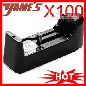 Mini Adjustable Universal 110V-220V Battery Travel Dock Charger For 16340 14500 18650 R MYY1146(China (Mainland))