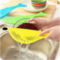Cooking Tools Kitchen Tool The Whale Shaped Handle Type Water Filter Frame Rice Washer Creative Kitchen