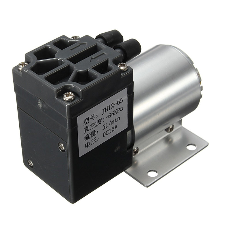 Newest DC12V 6W 65-120kpa Micro Vacuum Pump Negative Pressure Suction Pump Motor Drive 500mA Newest(China (Mainland))