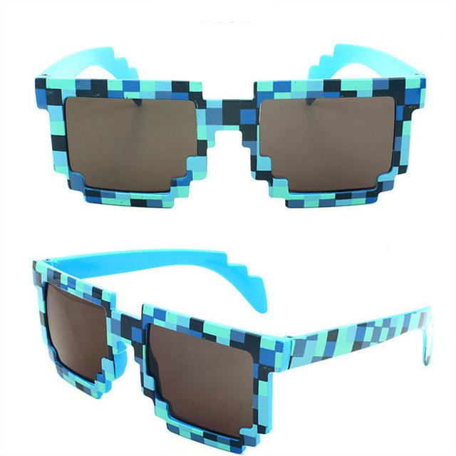 Deal With It Sunglasses Men 2016 Eyewear 8 Bits Of Attitude Pixel Points thug Sun Glasses For Women Brand Designer Sobretudo(China (Mainland))