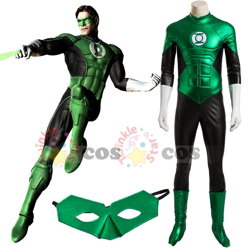 Green lantern costume for women