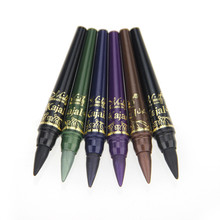 Professional Lady Makeup M n Eye Shadow Pencil Set 6 Colors Waterproof Eyeliner Pencil Make Up