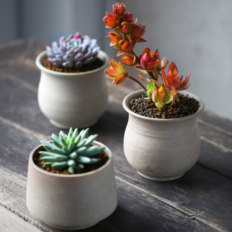 Online buy wholesale small ceramic planter from china for 6 ceramic flower pots