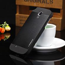 Motomo алюминий металл чехол для Samsung Galaxy S4 чехол в твердом переплете защитную телефон чехол для Fundas Samsung S4 S3 S5 S6 чехол капа
