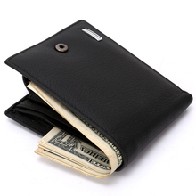 Genuine Leather Wallet Purses Men's Wallets Coin bag Carteira Masculina Porte Monnaie Monedero Famous Brand Male Man Wallets