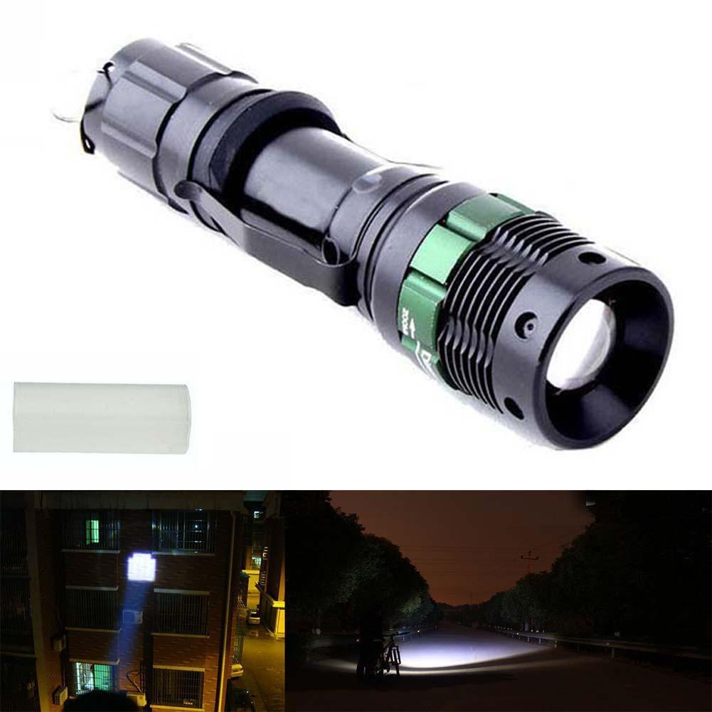 Hot Sell 3000 Lumen Zoomable CREE XM-L Q5 LED flashlights torches light lamps(China (Mainland))