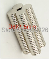 300Pcs D8 x 1mm Small Round Rare Earth Neodymium Magnets Magnet N38 Free Shipping(China (Mainland))