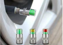 4PCS Car Tyre Tire Pressure Gauge Monitor Indicator Tpms Monitoring Cap Sensor Wheel Car Styling Air Press Alert Diagnostic Tool(China (Mainland))