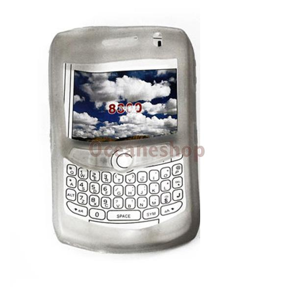 Skin Case for Blackberry Curve 8300 8310 8320 8330 C(China (Mainland))