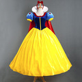 Adult Snow White Princess Dress Stage Cosplay Clothing Cloak Petticoat Halloween Cosplay Costume Hallowmas Cos Costume