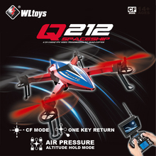 Original WLtoys Q212 Without Camera 2.4G 6 Axis RC Drone 3D Hovering CF Mode Altitude Hold One Key Return LED RTF