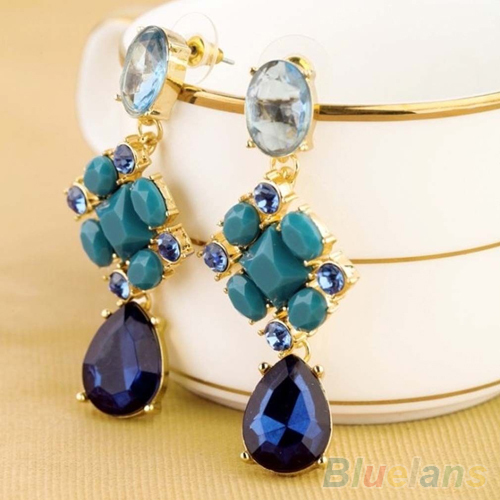 Unique  Stud Crystal Earring For Women Girlsin Stud Earrings From Jewelry On