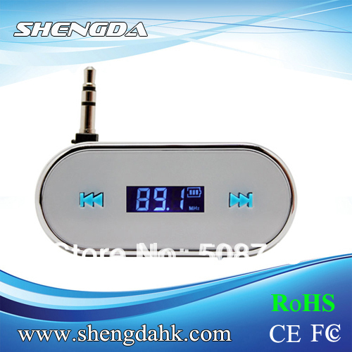 FI-316 White FM Radio Music Transmitter iPod 5th iPhone 5 4 4S HTC NOKIA LG SAMSUNG SONY - Shengda Electronics Technology Limited store