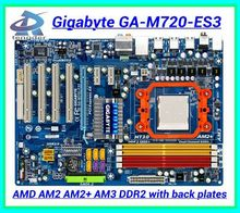 Free shipping 100% original desktop motherboard for Gigabyte GA-M720-ES3 M720-ES3 Socket AM2 AM2+ AM3 DDR2(China (Mainland))