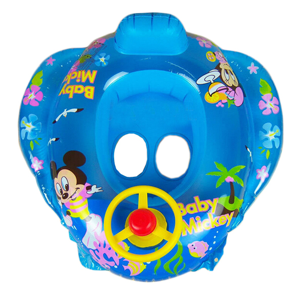 swimming laps baby boat with speaker inflatable children swimming rings Float Ring Swimming Pool Seat(China (Mainland))