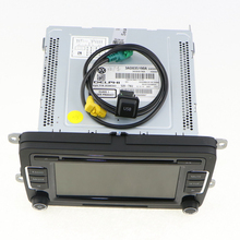 OEM VW Car Radio RCD510 Code Reverse-Image+USB Switch & Cable CD MP3 Jetta Golf MK5 6 Passat B6 3AD 035 190A 5KD 726A - Jinxin Auto Parts Co., Ltd. store