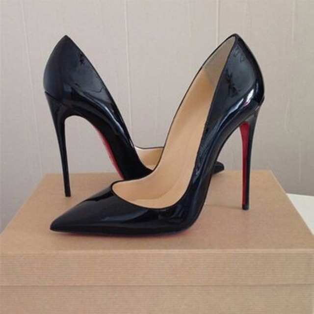 Online Shop red bottom high heels size 10 Sexy Pointed Toe ...