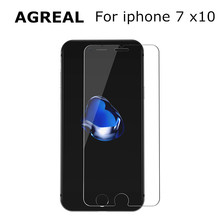 "Buy 10pcs 4.7"" 0.3mm 2.5d 9H Apple iPhone 7 Tempered Glass Film Iphone 7 Glass Screen Transparent Toughened Screen Protector for $6.29 in AliExpress store"