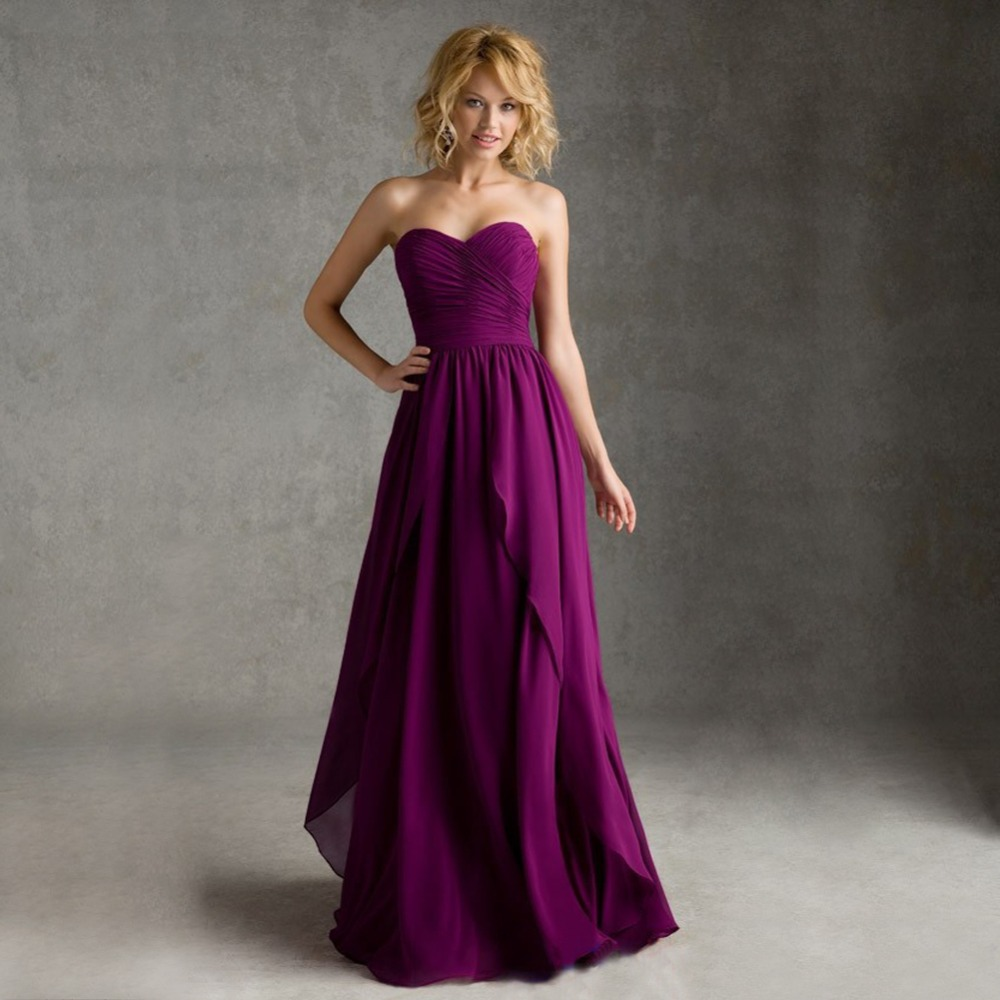 2016 hot selling cheap purple bridesmaid dresses for Amazon cheap wedding dresses