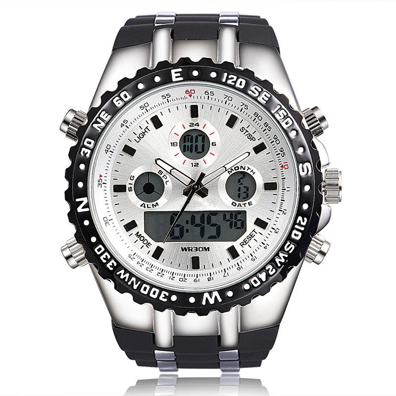 Watches Men Luxury Brand Quartz Clock Men Reloj Digital Watch Wrist Military Sports Watches relogio masculino montre homme 2015