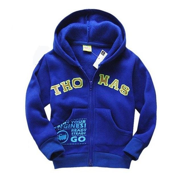 2015 Brand New Children hoodies Spring Autumn Kids cartoon pattern hooded coats Boys long sleeve outerwear
