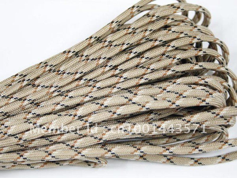 New Paracord 550 Paracord Parachute Cord Lanyard Mil Spec Type III 7 Strand 100 FT FREE SHIPPING<br><br>Aliexpress