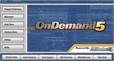 Original repair data car software Mitchell v2010 Ondemand5  (car service greenpoint,car repair service,car maintenance)