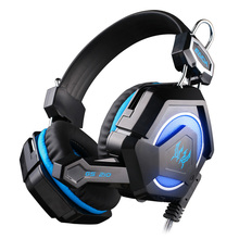 EACH GS210 Gaming Headphones Gaming Headset Gamer Headband Colorful LED Earphones With Mic Stereo Fone De Ouvido for PC Gamers