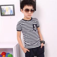 New 2016 summer kids clothes, short sleeve t-shirt and pant, boys' clothing sets, children sport suit(China (Mainland))
