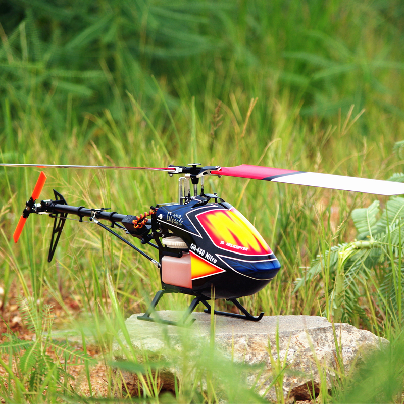 Global Eagle 480N18-DFC450L 6CH Fuel Oil Nitro RC helicopter RTF/RTF aircraft  RC Nitro helicopter 3D Stunts