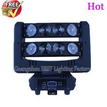 8x10w rgbw 4in1 led spider beam moving head light led bar beam spider light(China (Mainland))