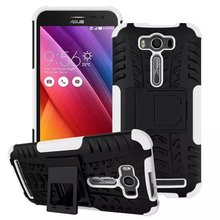 Spider Bracket Plastic cover+TPU Hybrid Case Asus Zenfone 2 Laser ZE500KL 5.0 inch Mobile Phone Bags Cases Coque Funda - Roar Korea Store store
