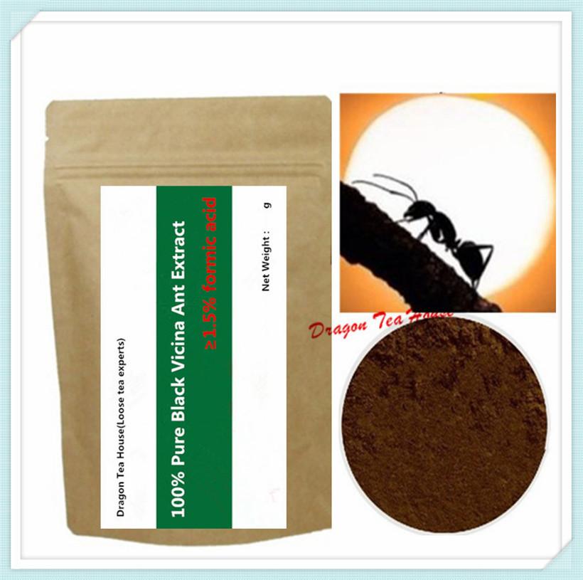 250g 8.8 oz Pure Polyrhachis Black Ant/ polyrhachis vicina EXTRACT Powder,1.5% formic acid(China (Mainland))