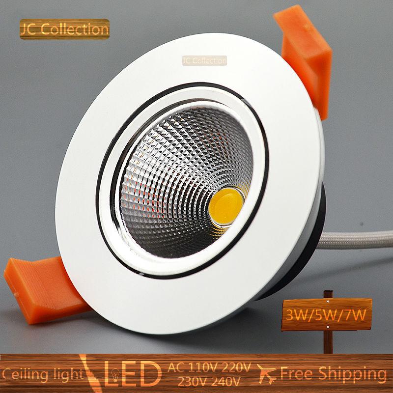 cut size 55mm 6 X 3W LED ceiling light Warm Cool White free shipping led COB bulb spot light LED bulb lamp little color aluminum(China (Mainland))