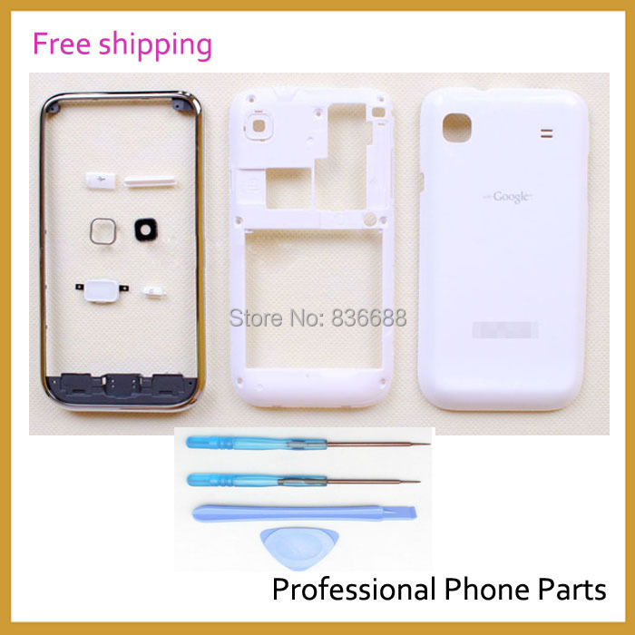 Replacement Original Front Frame Middle Bezel Battery Door Case Cover Samsung Galaxy S Plus i9001 Housing, - Professional Phone Parts Store store