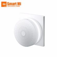 Buy 100% New Original Xiaomi Mijia Intelligent Web Wifi Radio Ringbell Smart Gateway Smart Home Automatic Mi Home Kits 1pcs for $35.10 in AliExpress store