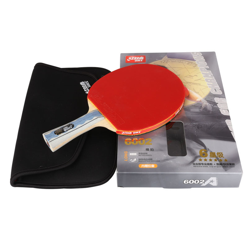 original DHS X6002 A6002 Table tennis rackets . 6 STARS . finished product Table tennis racquet . double Happiness sports(China (Mainland))