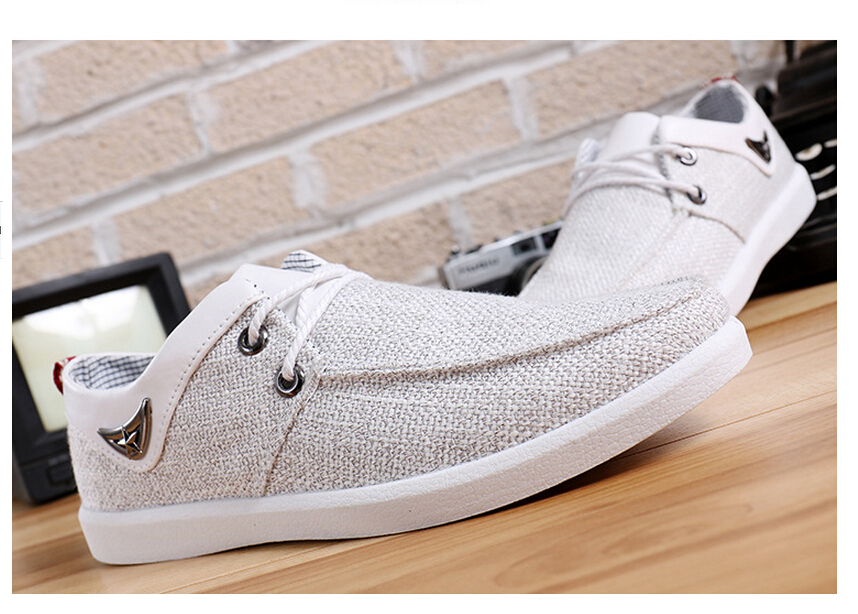 Zapatos lino hombre - Zapateros de tela ...