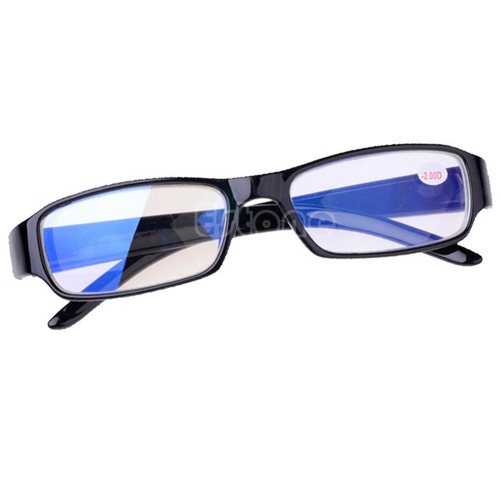 Black Frames Eyeglass Myopia Glasses -1 -1.5 -2 -2.5 -3 -3.5 -4 -4.5 -5.5 -6 AD9099(China (Mainland))