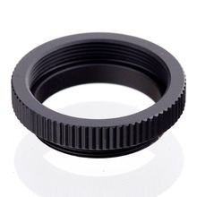 Buy 5 pieces Macro C Mount Ring Adapter 25mm 35mm 50mm CCTV Movie Lens M4/3 NEX Camera black free for $3.18 in AliExpress store