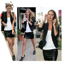 Женская юбка Fashion Skirts Bodycon Zip /dp656777 2014 Skirts