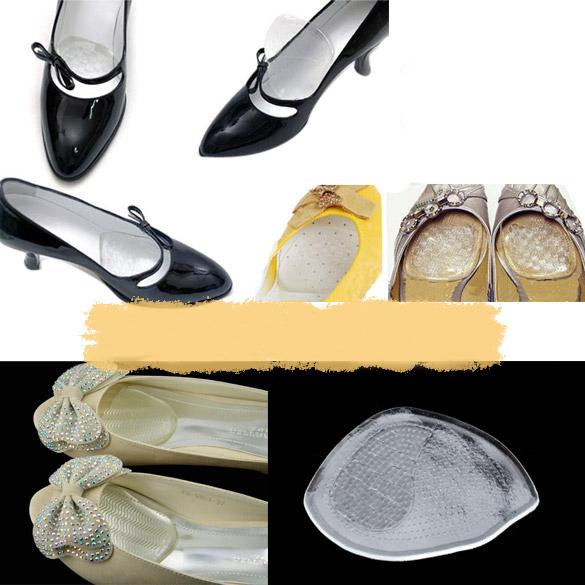 Силиконовый гель упругие подушка стельки защитить удобные ноги палм уходу за обувью ...
